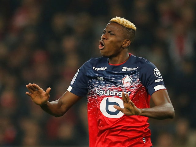Italian Serie A side Napoli signs Nigeria's Victor Osimhen for a record $96m from French club Lille