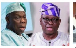 I'll send you back to jail when I become Nigeria's president - Fayose warns Obasanjo