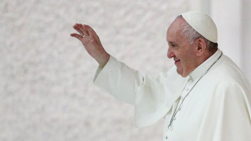 Pope Francis indicates support for same-sex 'civil unions'