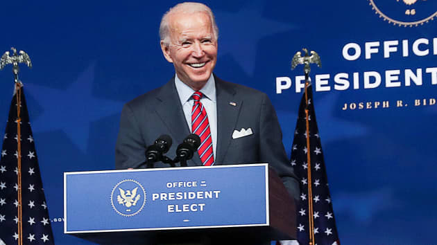 US Electoral college begins casting votes that will cement Biden victory